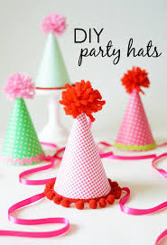 diy party hats diy party birthdays and birthday party ideas