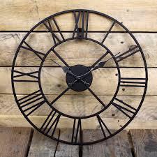 Funky Wall Clocks Exceptional Outdoor Garden Clocks 1 Large Outdoor Garden Wall