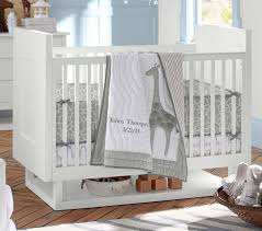 Animal Print Crib Bedding Sets Mercer Crib Pottery Barn