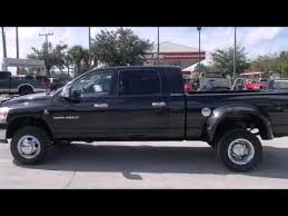 dodge ram mega cab dually for sale 2006 dodge ram 3500 leather mega cab 5 9l cummins diesel dually