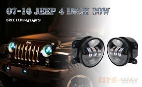 Led Fog Light Amazon Com Liteway Pair 4 Inch 30w Cree Led Fog Lights Projector