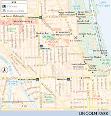 chicago zoo map map of lincoln park wicker park and bucktown lincoln park
