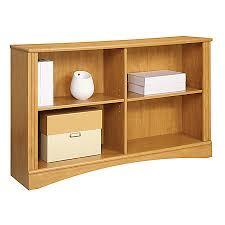 Bookcase Maple Realspace Dawson 2 Shelf Sofa Bookcase Canyon Maple By Office