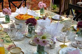 Tea Party Table by Tea Party Wedding Cakes