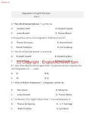 biography of abraham lincoln in english pdf biographies in english literature test 1 pdf w