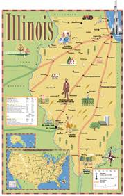 of illinois map journeys learn about illinois scholastic com