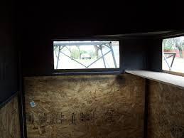 deer blind window ideas u2022 window blinds
