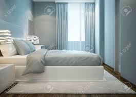 chambre de maitre lit blanc milou dans la chambre bleue chambre de maître avec lit