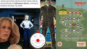 jamie lee curtis returns as laurie strode in new halloween movie