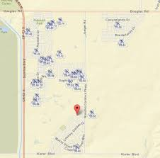 Douglas Arizona Map by