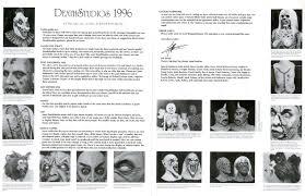 2012 Don Post Studios Catalog Blood Curdling Blog Of Monster Masks by Death Studios 1996 Catalog Blood Curdling Blog Of Monster Masks