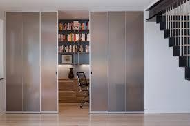 Room Divider Door - sliding room dividers dining room modern with barn door hardware