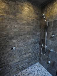 Slate Tile Bathroom Shower Black And Grey Slate Floor Wall Tiles Tiles Kitchen Tile Showers