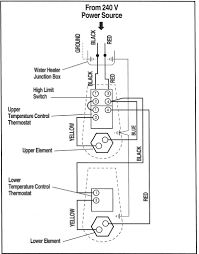 thermostat wiring diagram for ac and water fan thermostat