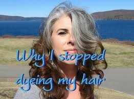 how to bring out gray in hair why i stopped dyeing my hair youtube