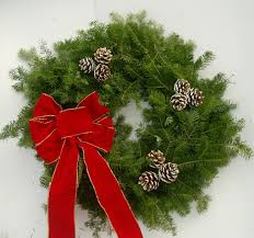 Cemetery Christmas Decorations Decorated Wreath Ss Gif