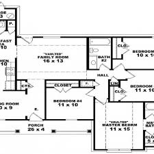 four bedroom house plans one story 4 bedroom house plans 1 story 5 3 2 bath floor best farmhouse