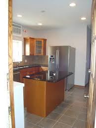 square kitchen island kitchen renovation logan square barts remodeling chicago il