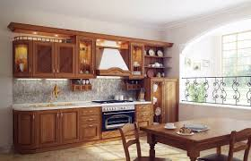 traditional kitchen design with sharp old fashioned cabinet and