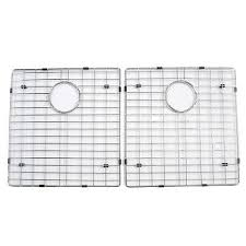 sink grates for stainless steel sinks barclay wire grid set5 sink grid set for 5050 sink 18 x14