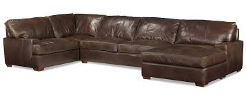 Chocolate Brown Sectional Sofa With Chaise Sofa Black Leather Sectional Leather Sectional