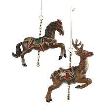 ksa club pack of 12 carousel and deer ornaments 4