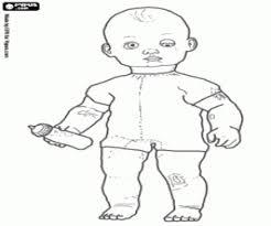 bigbaby doll baby coloring printable game
