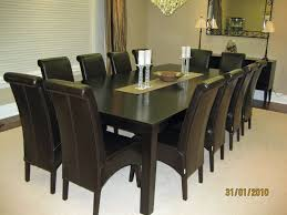 R 597 Black Roll Back High Back Leather Dining Room Throughout
