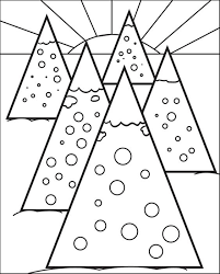 pine tree coloring pages free printable christmas tree coloring page for kids 7