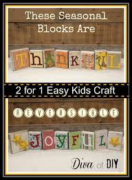 seasonal decorations seasonal decorations how to make reversible blocks