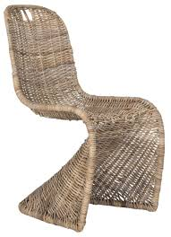 Wicker Rattan Dining Chairs Sea7007a Set2 Dining Chairs Furniture By Safavieh