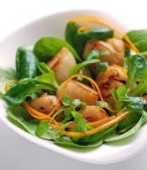 cuisiner des noix de st jacques noix de jacques poêlées et salade envie de bien manger