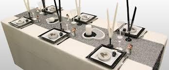decoration mariage noir et blanc décorations de table de mariage décoration fête mariage