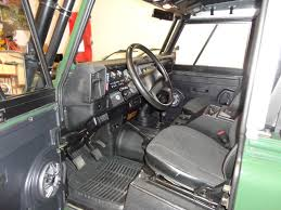 land rover defender interior money pit 1995 land rover defender 90 defender source