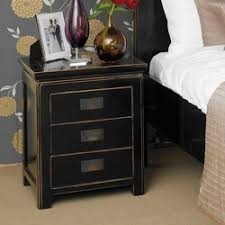 black lacquer nightstand from 4 living furniture limited retailer