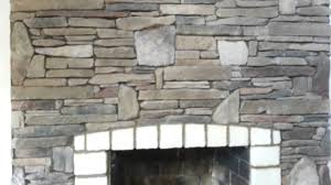 cultured stone fireplace youtube