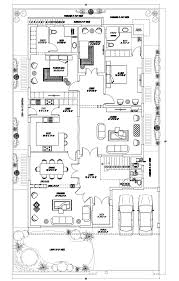 floor plans for 1 homes 1 kanal house at dha phase 7 lahore by consultant 450 sqm