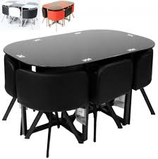 Space Saver Dining Table Sets Breakfast Set 5 Space Saver Dining Set Dining Tables For
