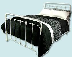 vintage metal bed frame etsy