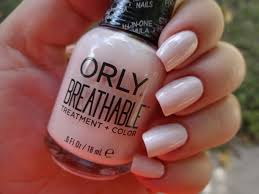 new orly breathable treatment color the rosy snail