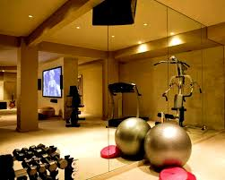 basement home gym idea with basement home sport center and small