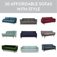 affordable sofa options 20 of our favorite stylish seating