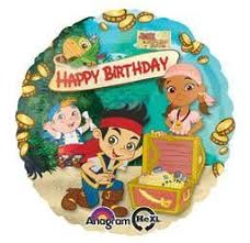 jake and the neverland birthday jake neverland happy birthday pkg foil balloon 5ct