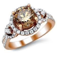 brown diamond engagement ring fancy brown diamond engagement ring engagement