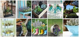 Garden Containers Ideas - creative container garden ideas inspired home style