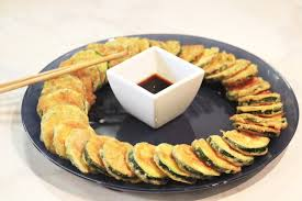 cuisine cor馥nne recette cuisine coréenne le hobakjeon 호박전 http kimshii com 2012 11