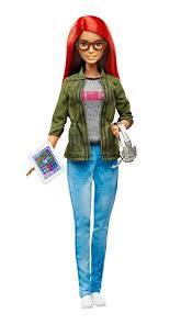 amazon barbie careers game developer doll toys u0026 games