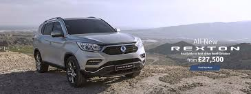ssangyong dealer cwmbran gwent colley motor group