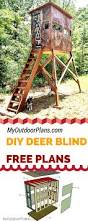 Hunting Blind Windows And Doors Free Deer Shooting Blind Plans For Your To Learn How To Build One