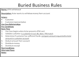 use cases and business rules can they work together u003e business